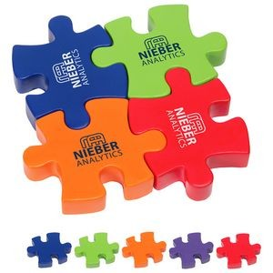 4-Piece Connecting Puzzle Set Stress Reliever